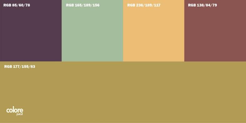 Pareti dai colori più luminosi rispetto al pavimento permettono di allargare la stanza e ridurre l'altezza percepita. Tabella Di 5 Colori Per Pareti Abbinati Tra Di Loro