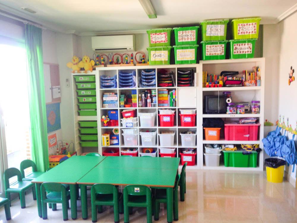 COLORES  Instalaciones Guardera y Escuela en Rivas