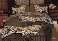 Colorful Cheetah Print Bedding