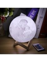 Mond Lampe Mit Bild  Mond Lampe Personalisierte Mond ...