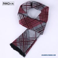Cheap New Winter Men's Scarves Brushed Silk Scarves Free