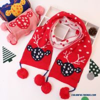 Cheap Christmas Gifts Kids Scarf Knitting Wool Scarves ...