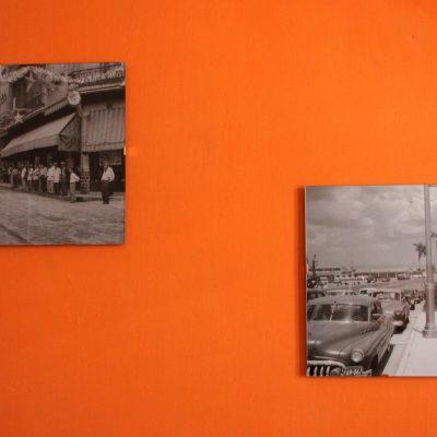 Detalle fotos antiguas La Habana