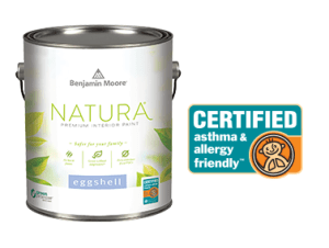 Natura paint, asthma and allergy friendly