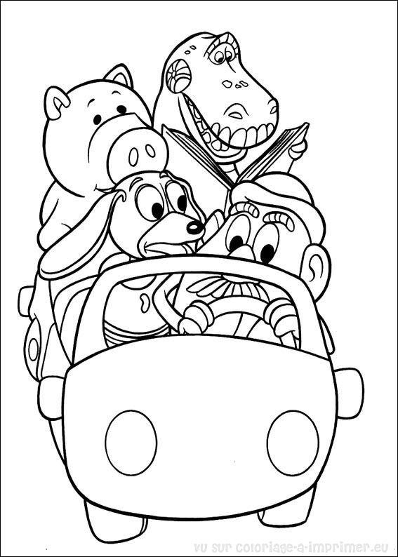 coloriage à imprimer coloriage toy story 077