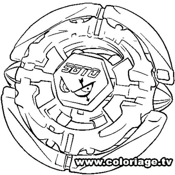 beyblade toupie Colouring Pages