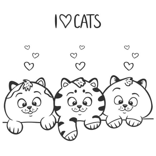 coloriage chatons dessincoloriage
