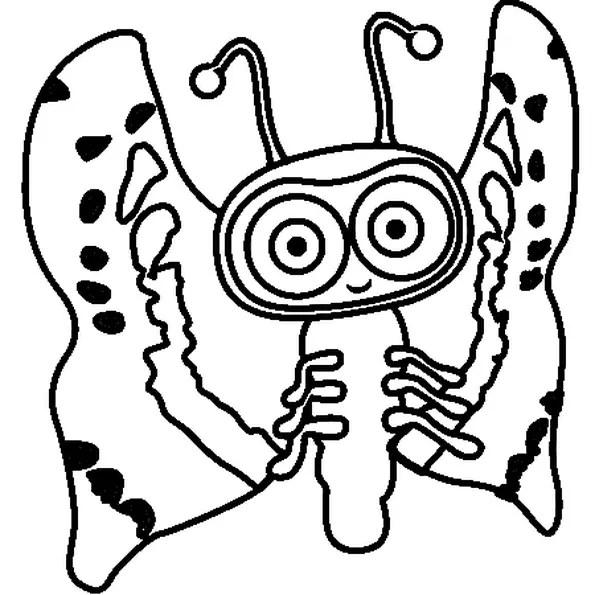 NARA BUG WAYBULOO : Coloriage Nara Bug Waybuloo en Ligne