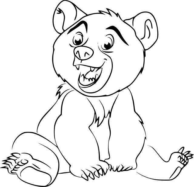Coloriage Koda Frère des ours à imprimer
