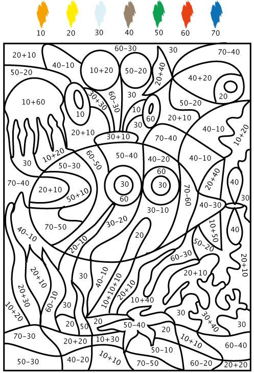 Coloriage Dessin facile à Numéro dessin gratuit à imprimer
