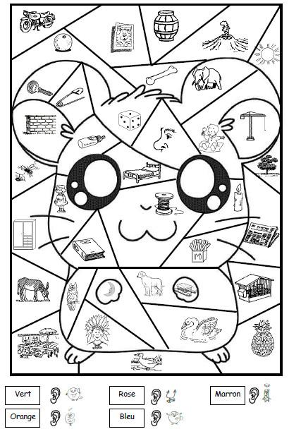 Coloriage Magique cp Pikachu dessin gratuit à imprimer
