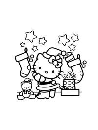 Coloriage De Hello Kitty A Imprimer Gratuit Coloriage Hello