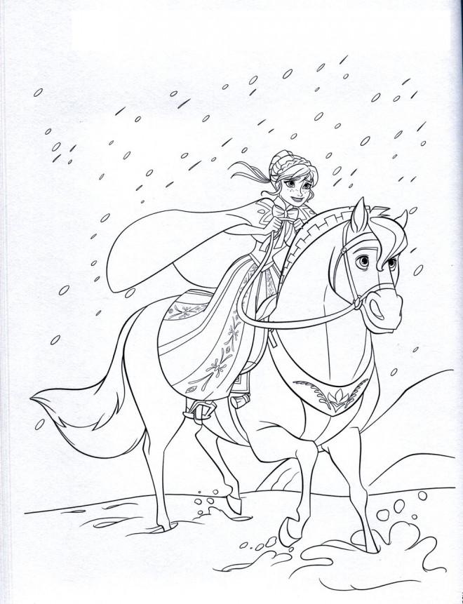 Coloriages La Reine Des Neiges Elsa