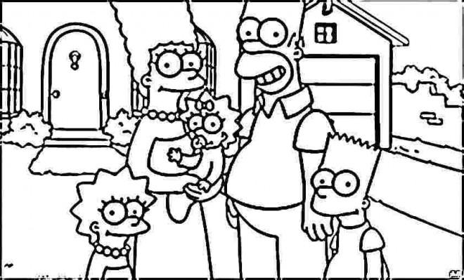 Comment Dessiner Bart Simpson