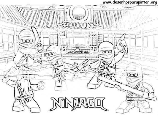 Coloriage Lego Ninjago Le Film
