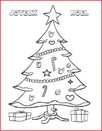Dessins Image De Carte De Noel A Fabriquer Coloriage Les