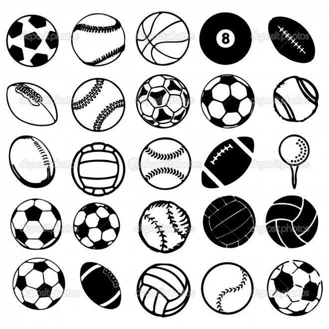 Coloriage Les types de Ballons dessin gratuit à imprimer
