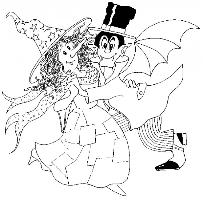 Coloriages Sorciere Halloween