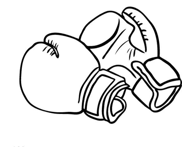Drawings Of Boxing Gloves