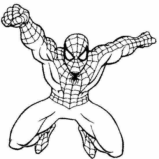 Dessin A Imprimer Dessins Spiderman A Imprimer Gratuit