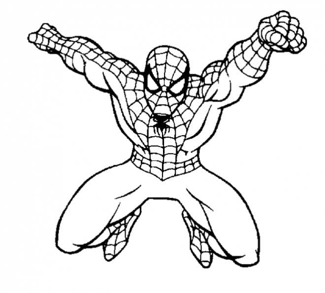 Spider Man Noir Coloring Pages
