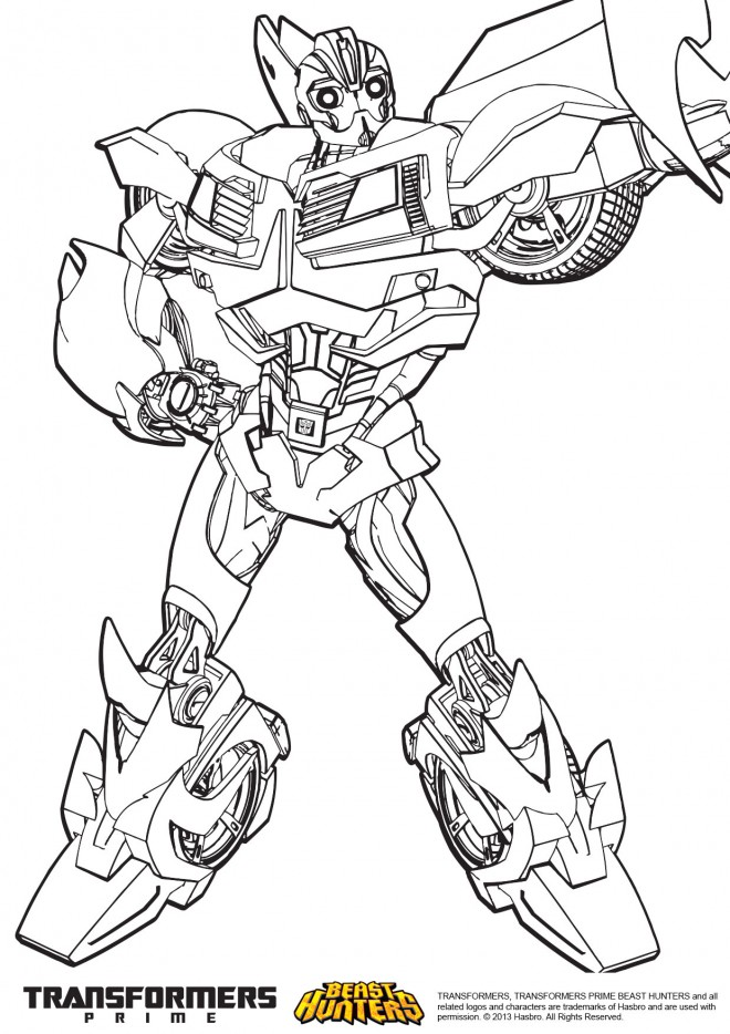 Coloriage Transformers 50 dessin gratuit à imprimer