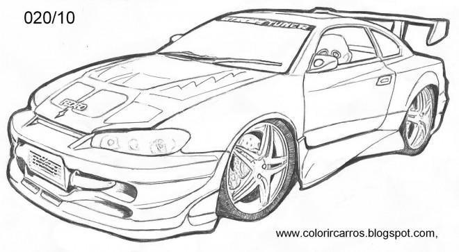 Coloriage Chevrolet Camaro dessin gratuit à imprimer