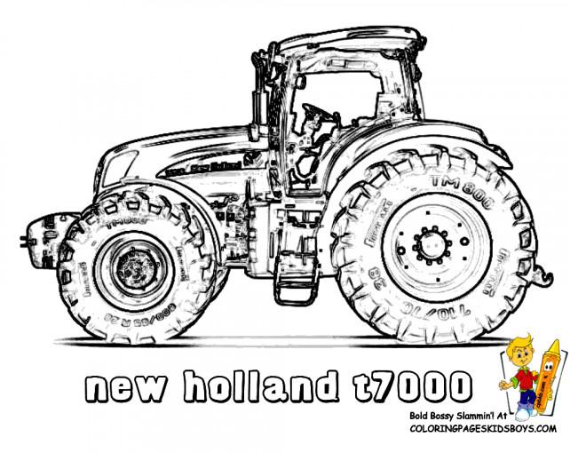Ausmalbilder Traktor New Holland Auto Electrical Wiring Diagram