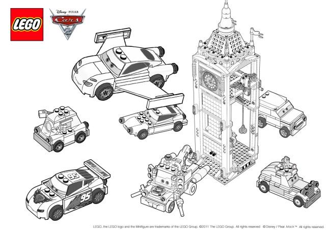 Coloriage de Cars 288 à imprimer pour enfants - Coloriage Cars 288