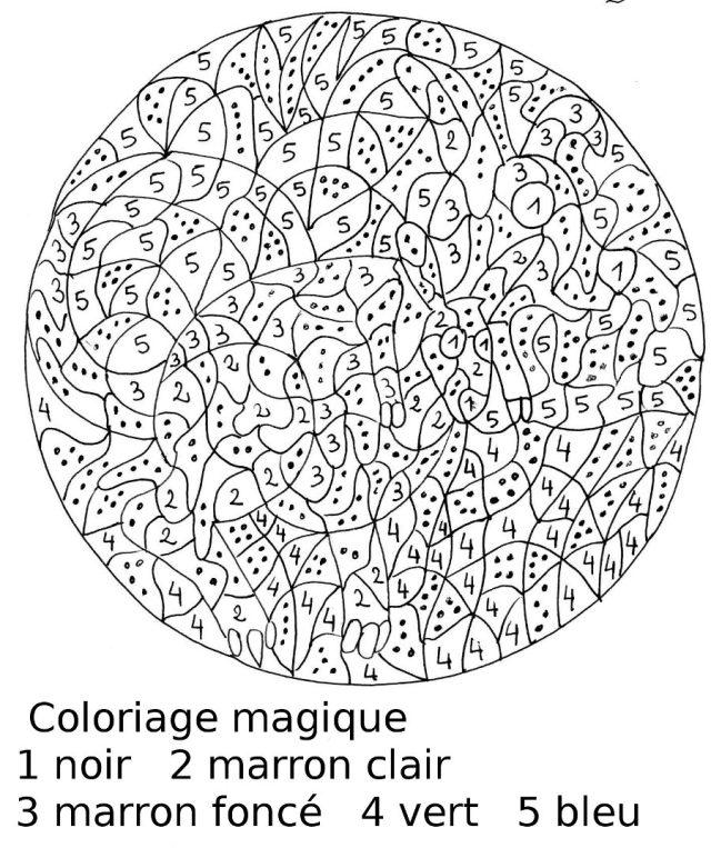 Magique 26 - Coloriage magique - Coloriages pour enfants