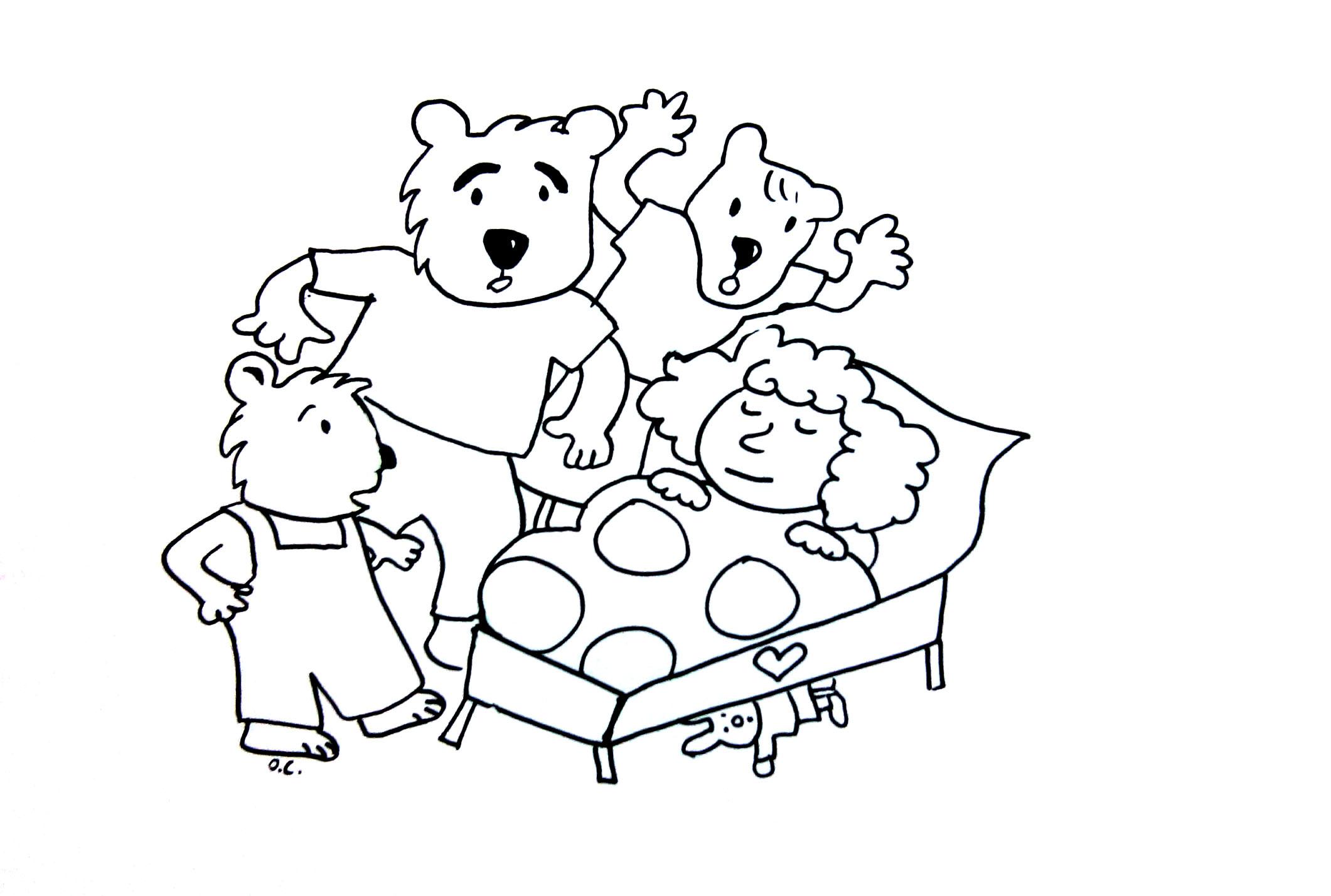 Boucle D Or Et Les Trois Ours