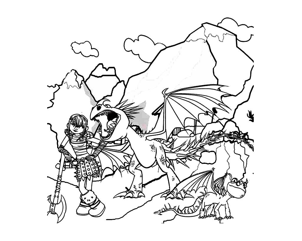 Belle Coloriage Peter Et Elliott Le Dragon Imprimer Et Obtenir Une