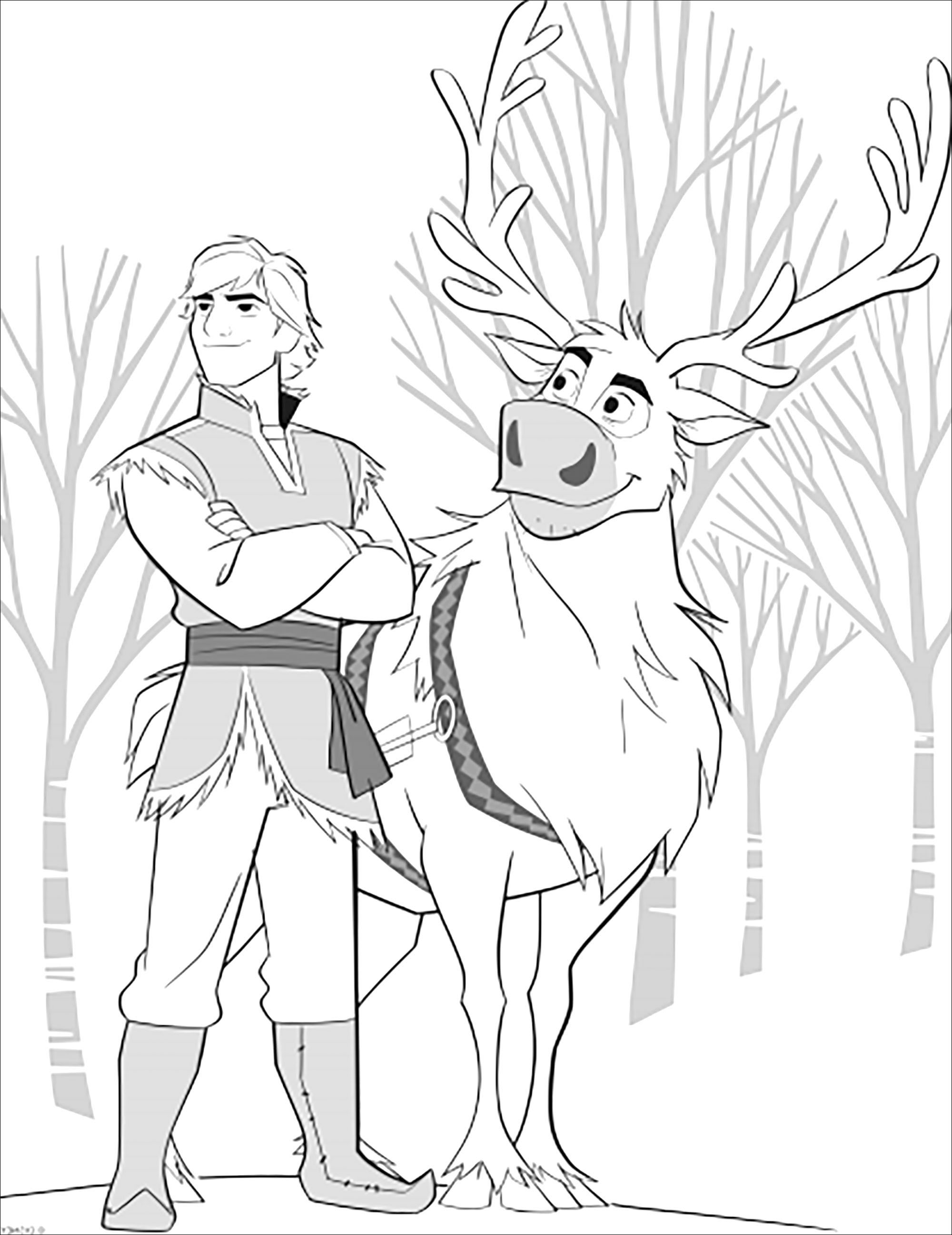 La reine des neiges 2 : Sven et Kristoff sans texte