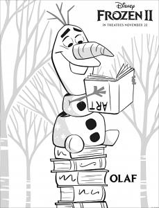La reine des neiges 2 : Elsa, Anna, Olaf, Sven, Kristoff
