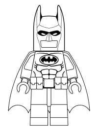 Coloriage De Batman Lego Coloriage Lego Super Heroes Batman