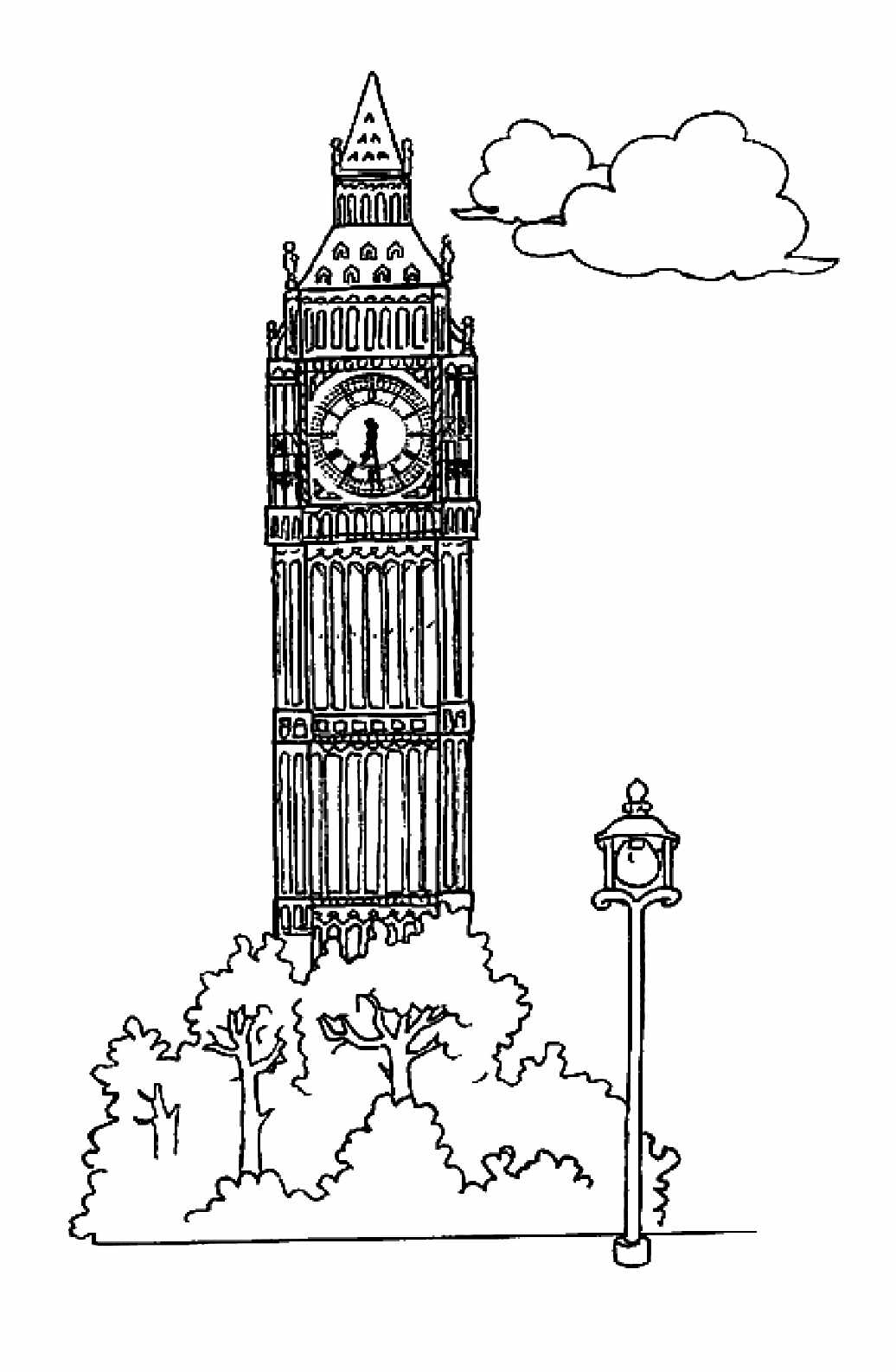 Monuments Big Ben