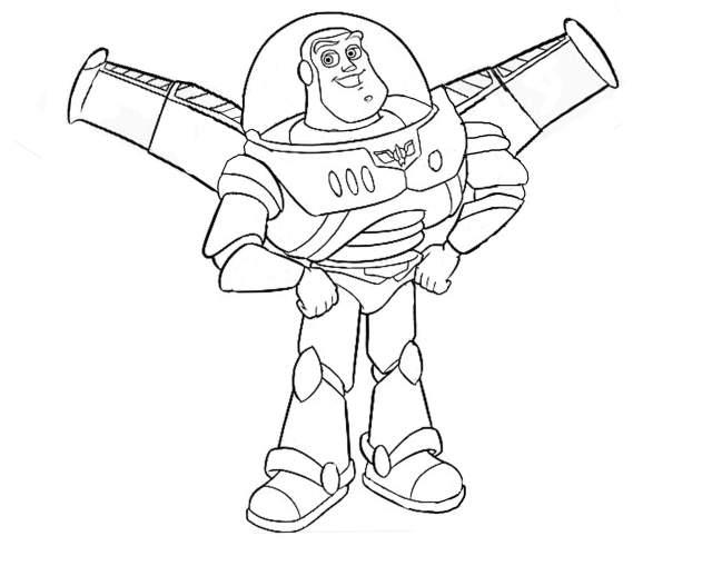 Dessin de Toy Story gratuit à imprimer et colorier - Coloriage Toy