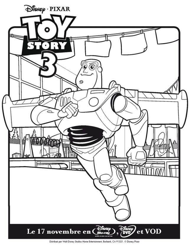 Image de Toy Story à imprimer et colorier - Coloriage Toy story