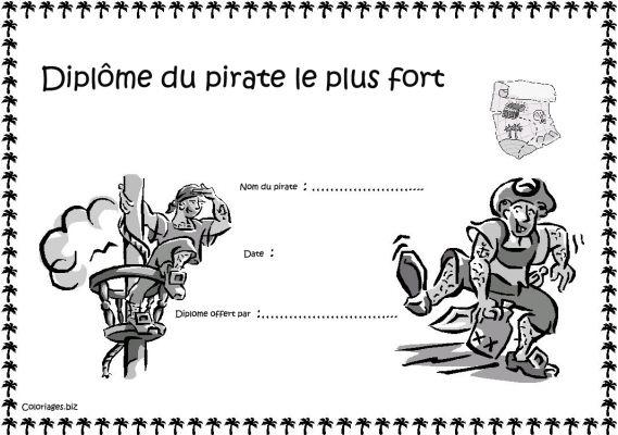 dessin pirate tresor