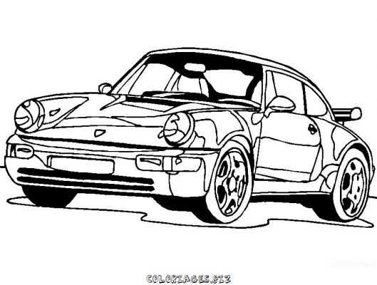 Coloriages Voiture page 2 Transports