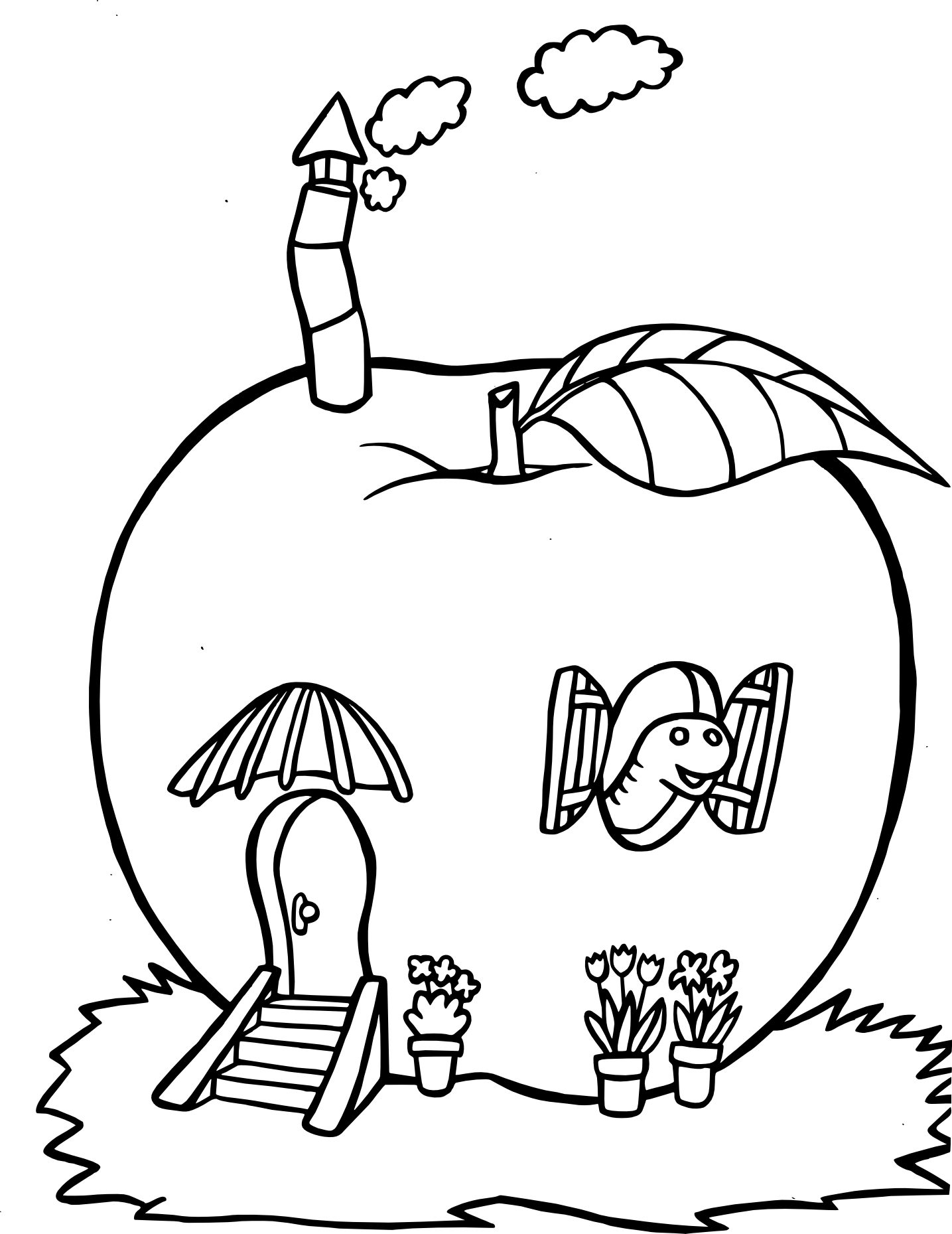 Igloo Coloring Coloring Pages