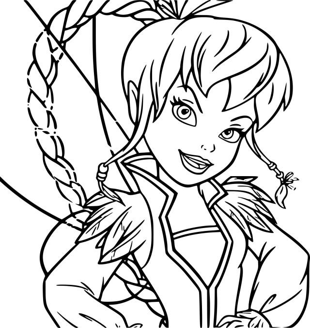 Coloriage de fée pirate à imprimer sur Coloriage DE .com