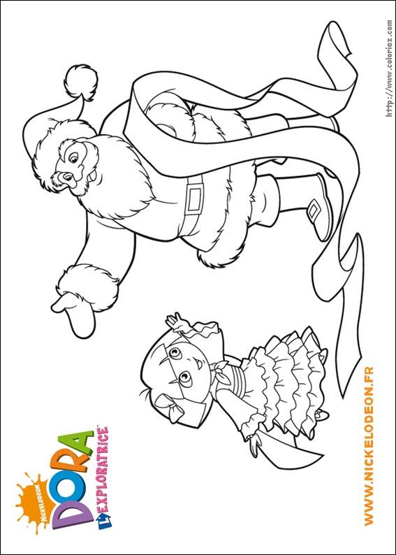 Coloriage Dora Ne Pas Imprimer Coloration