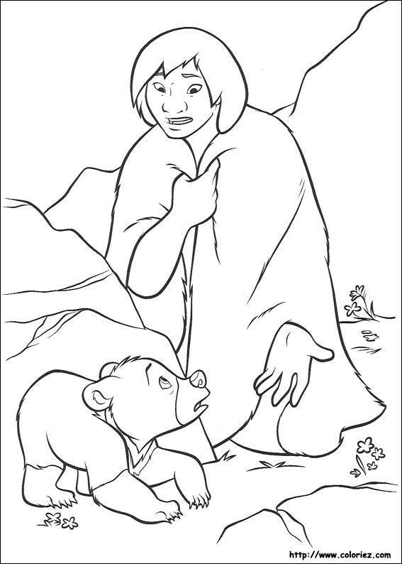 Coloring Pages © Brother Bear