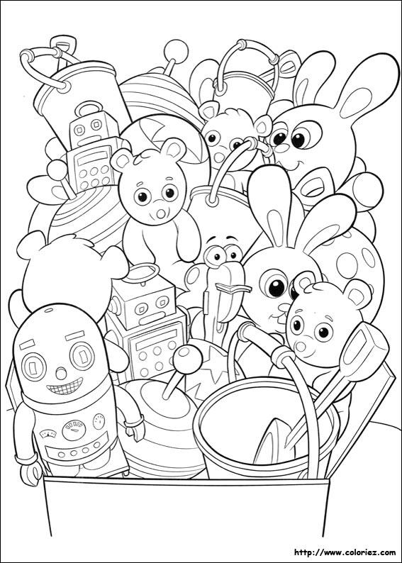 jouets à colorier