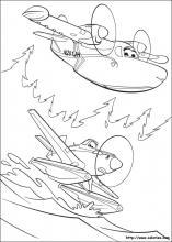 Coloriage Planes 2, choisis tes coloriages Planes 2 sur