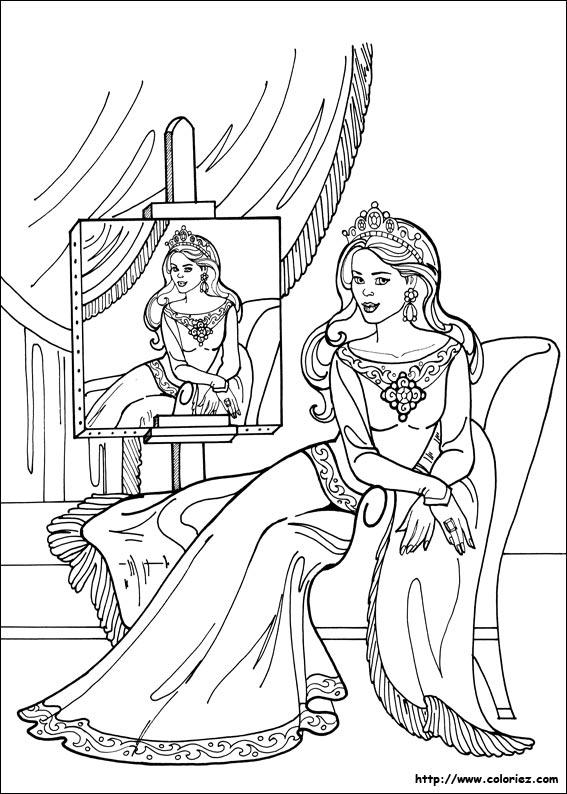 princesse coloriage dessincoloriage