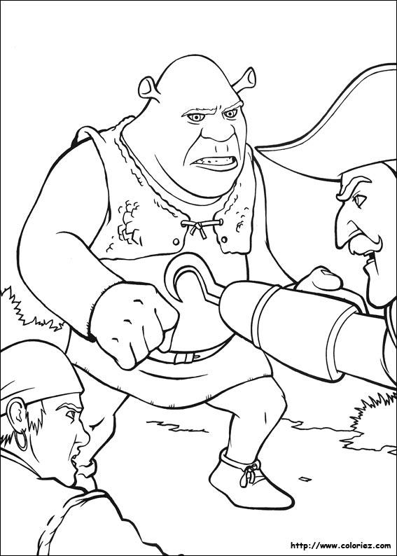 capitaine crochet coloriage