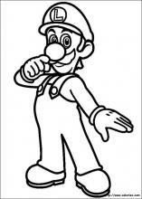 Coloriage Super Mario Bros, choisis tes coloriages Super