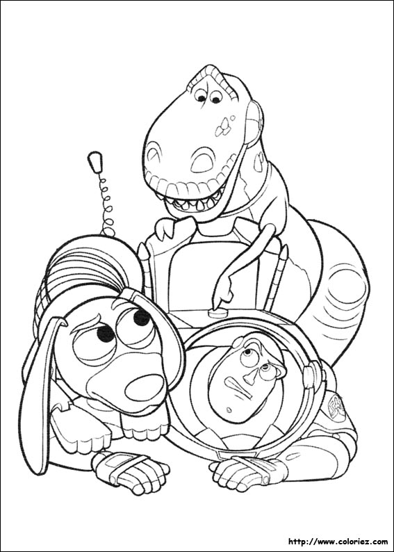 Perfect Coloriage Toy Story 3 Woody Buzz Ideas - Coloring Pages ...